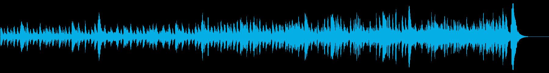 森の妖精や動物たちの陽気なポルカ風音楽の再生済みの波形