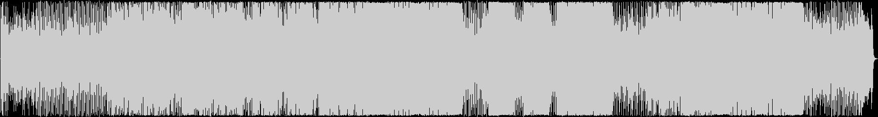アップテンポのシャッフルギターの未再生の波形