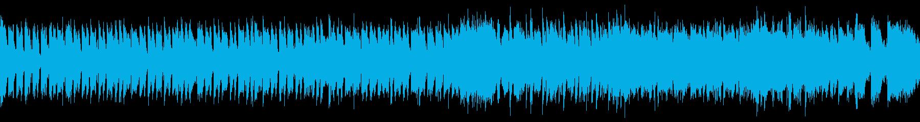 ポップなハロウィン・ループの再生済みの波形