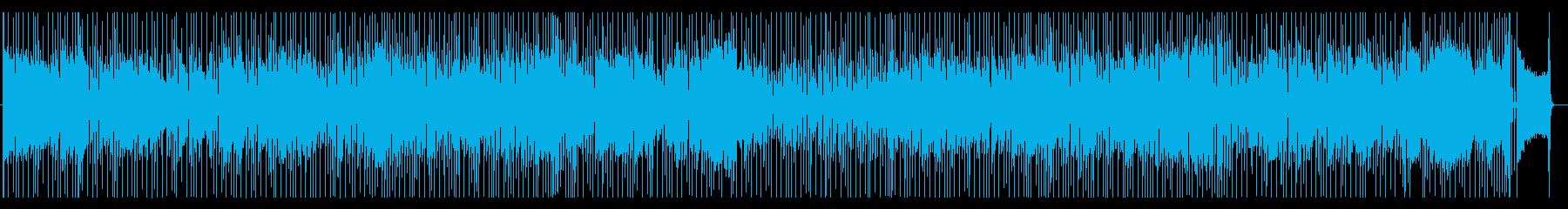 昔懐かしい感じな R&B 歌謡曲 BGMの再生済みの波形