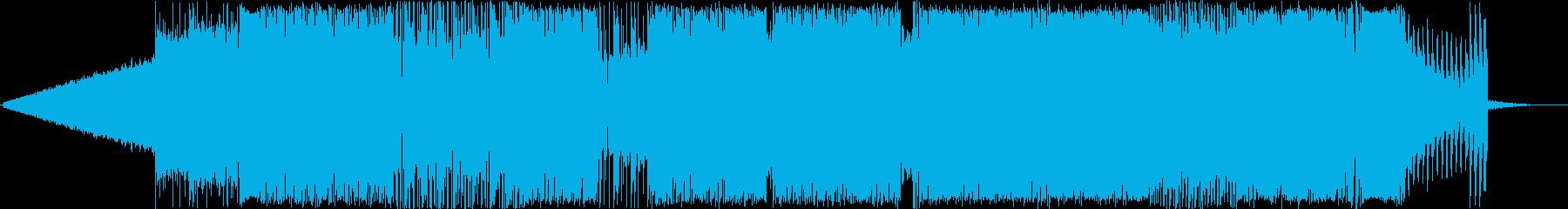 アンダースコア。 80年代の歌として。の再生済みの波形