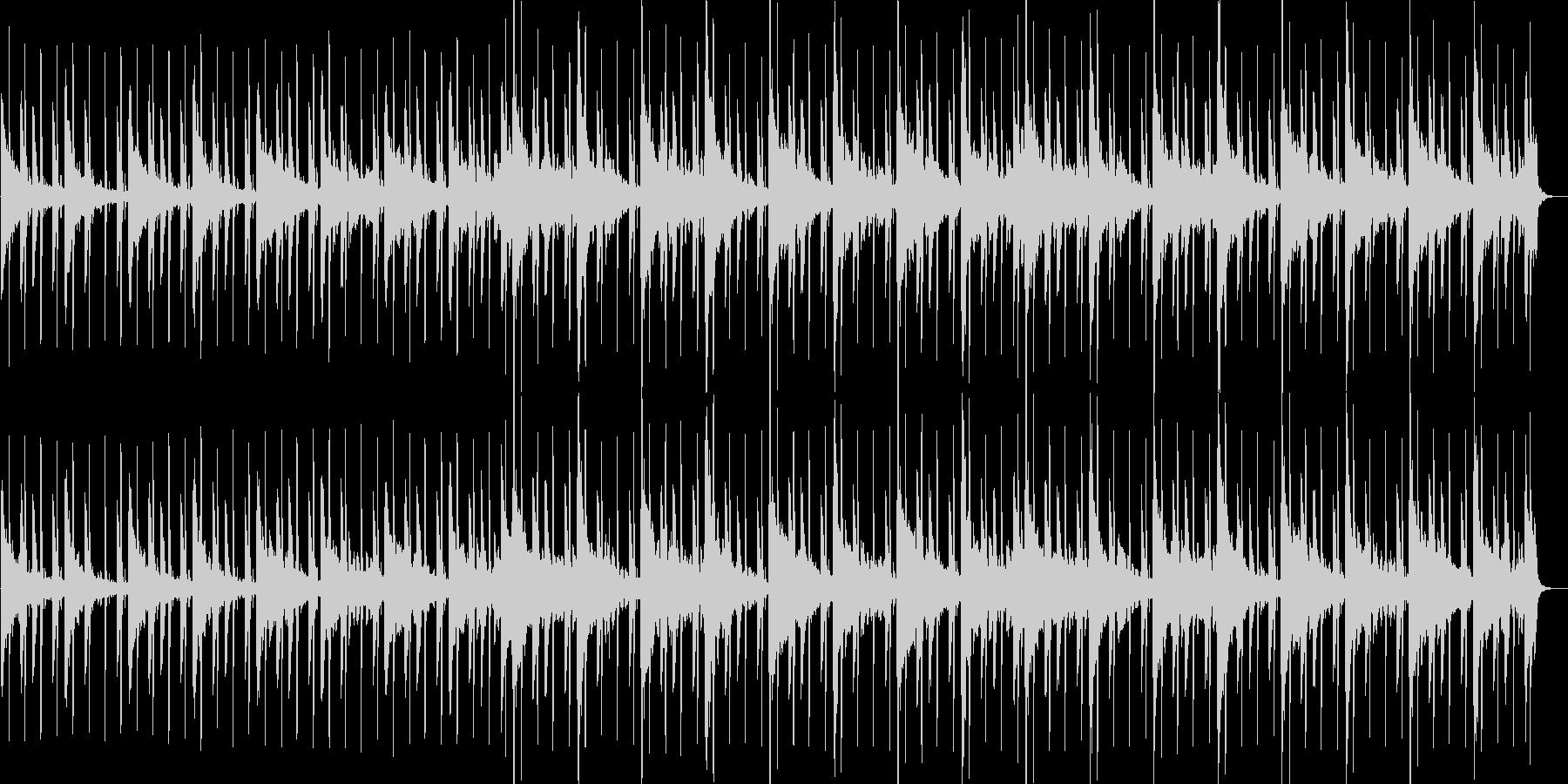 切ない雰囲気のローファイな曲の未再生の波形