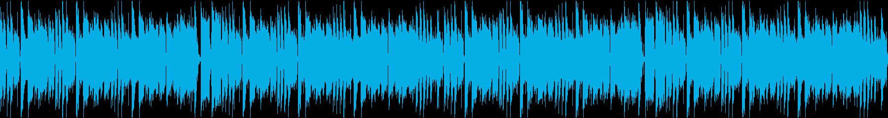 かわいいコミカル/カラオケ/ループの再生済みの波形