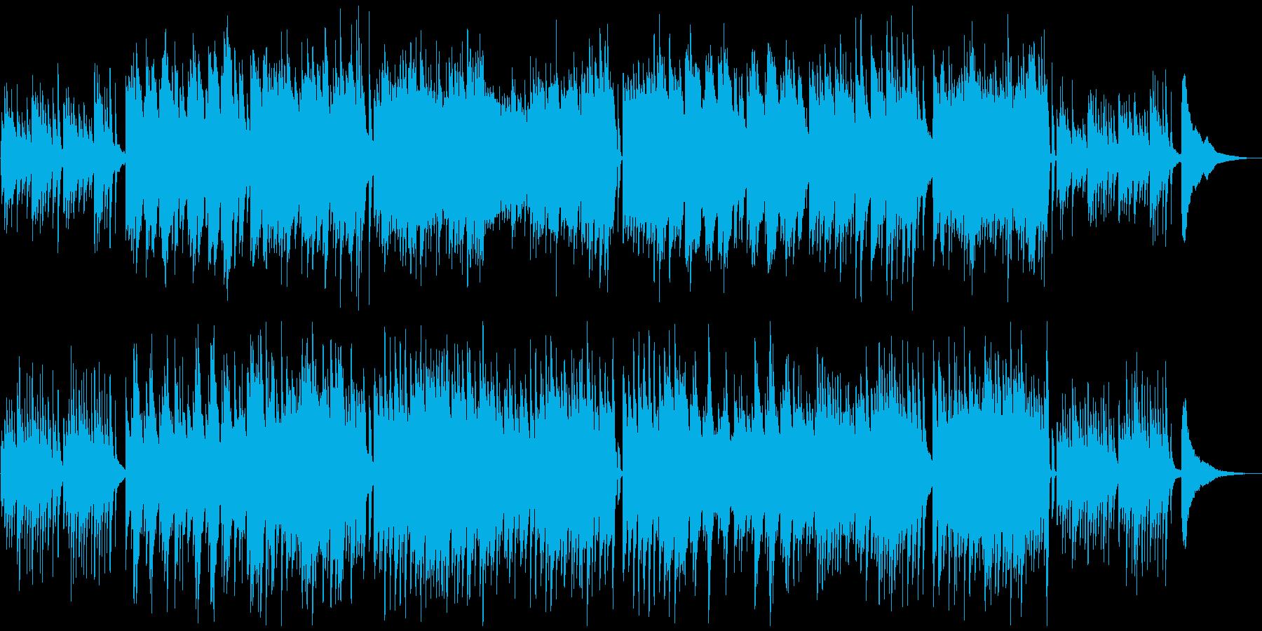 感動ソロピアノ 企業向ほのぼの爽やか軽快の再生済みの波形