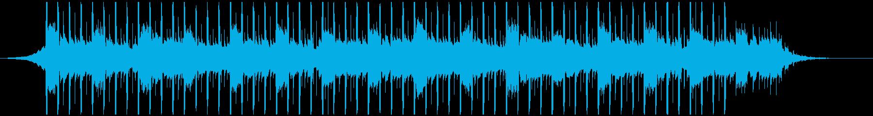 説明者(短)の再生済みの波形
