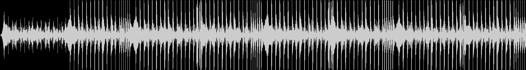 クールで最先端感溢れるBGMの未再生の波形