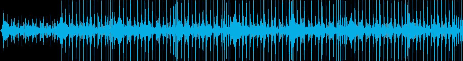 クールで最先端感溢れるBGMの再生済みの波形