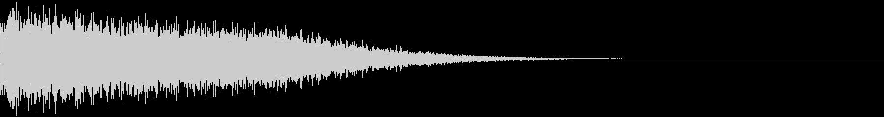 ビシューーン(魔法攻撃)の未再生の波形