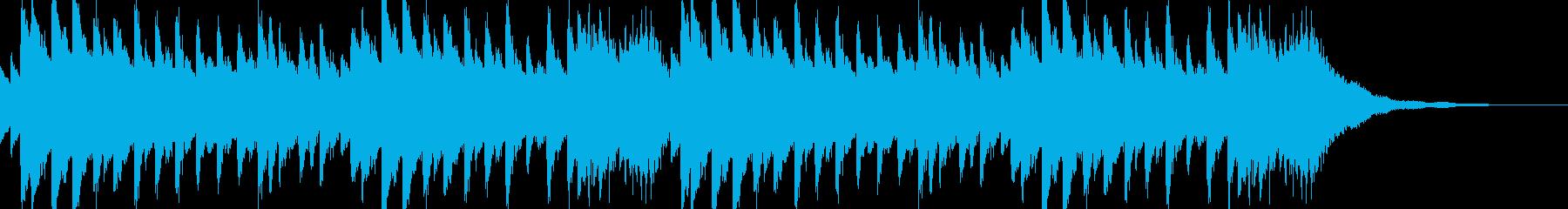 癒し、ヒーリングBGM#2の再生済みの波形