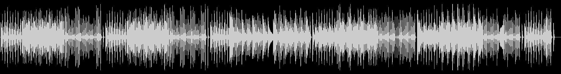 軽快でかわいいシンプルなピアノ曲の未再生の波形