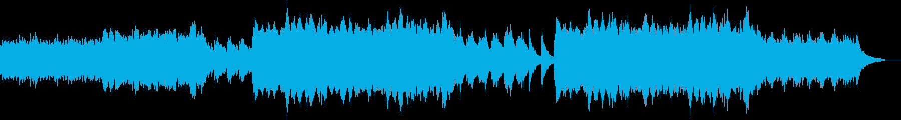 ピアノ+バイオリン ノスタルジックの再生済みの波形