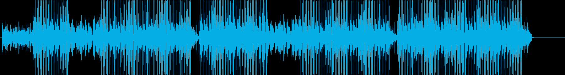 洋楽、ラテンヒップホップ、クラブ系♪の再生済みの波形