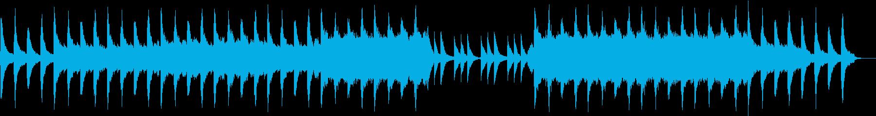 ノスタルジックで切ないピアノとバイオリンの再生済みの波形