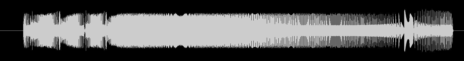FX 重機関銃03の未再生の波形