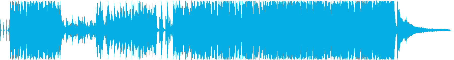元気いっぱいなピアノポップスの再生済みの波形