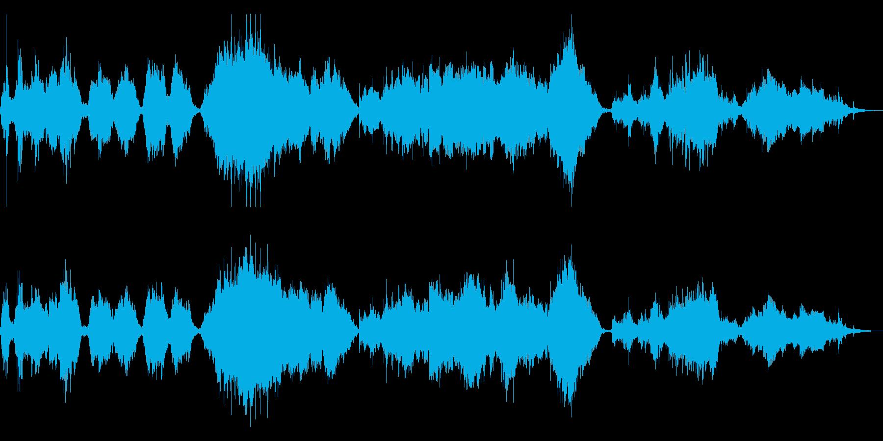 ドビュッシー「アラベスク」絃楽アレンジの再生済みの波形