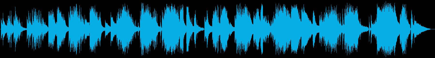 サティ、ジムノペディ、ジャズ風の再生済みの波形