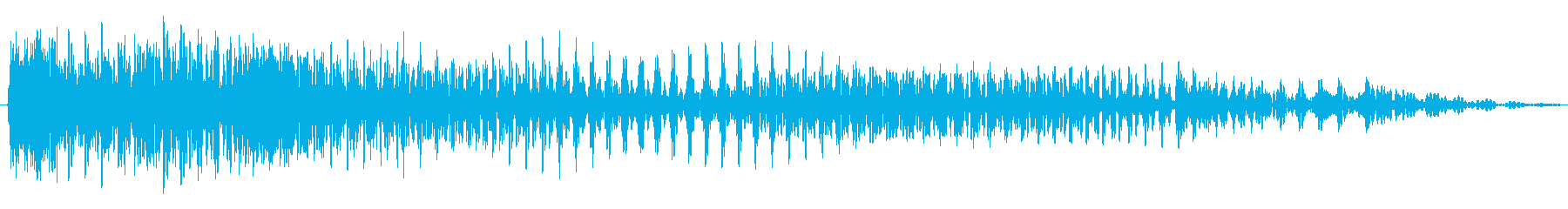 ジャカジャーン!の再生済みの波形