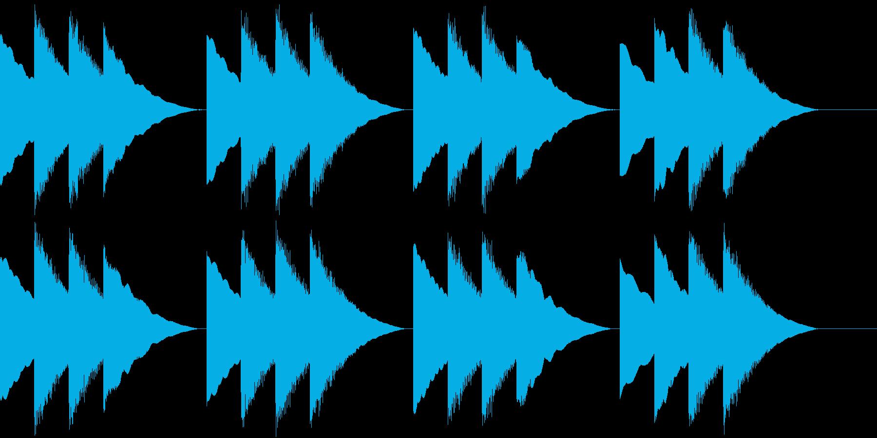 School 学校のチャイムの再生済みの波形