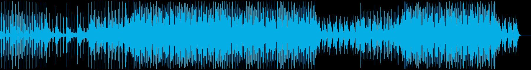 ハウスミュージック1(No Vocal)の再生済みの波形