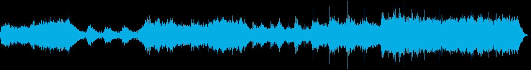 ほのぼのしたイメージで作りましたの再生済みの波形
