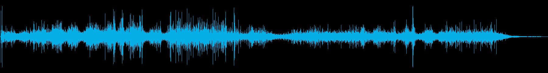スペースシャトル:エンジン爆風と静...の再生済みの波形