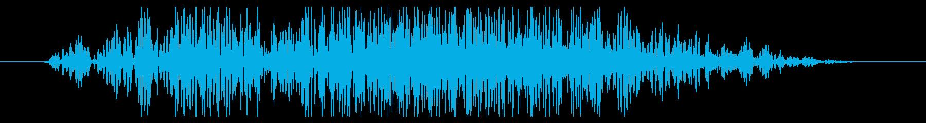 斬撃 ディープスコールヘビーショート01の再生済みの波形