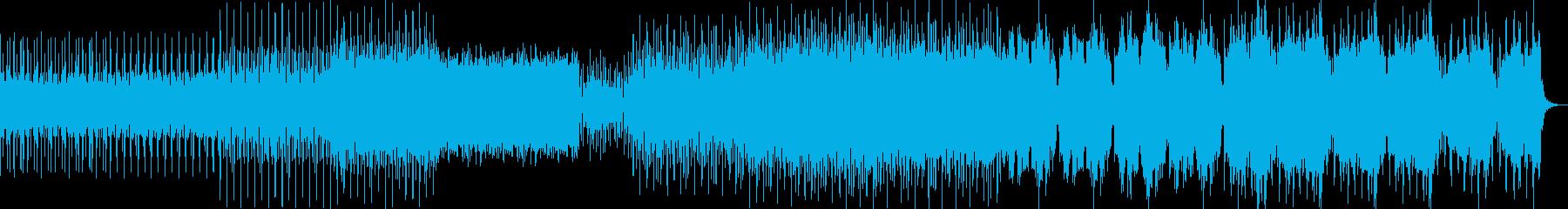大空を感じるゆったりとしたチルアウトの再生済みの波形