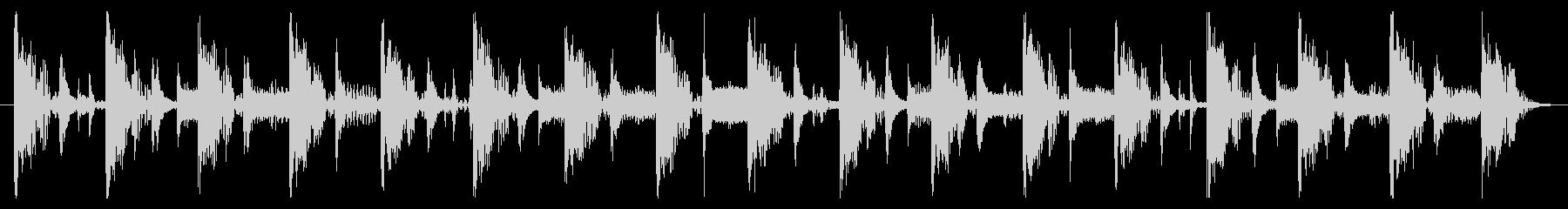 ベース生演奏のクールスラップジングル07の未再生の波形