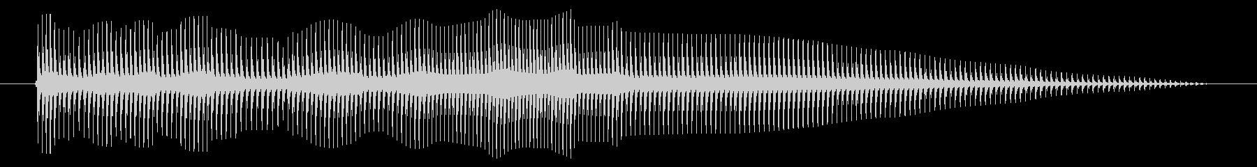 空腹02-5の未再生の波形