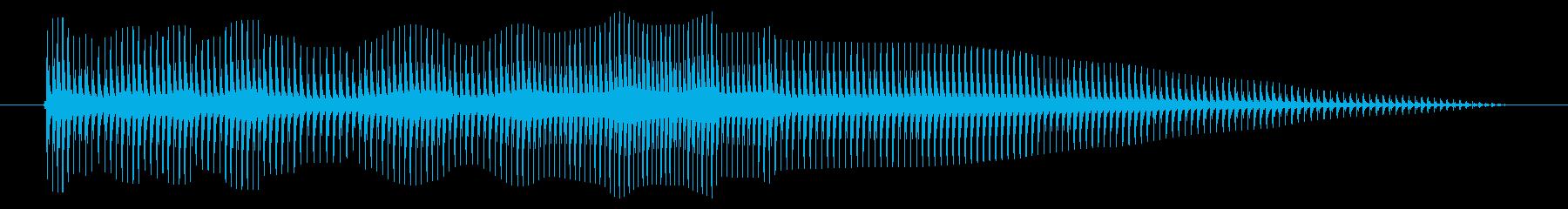 空腹02-5の再生済みの波形
