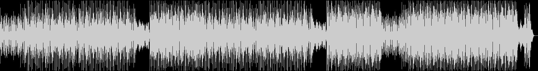 センチメンタルなヒップホップの未再生の波形