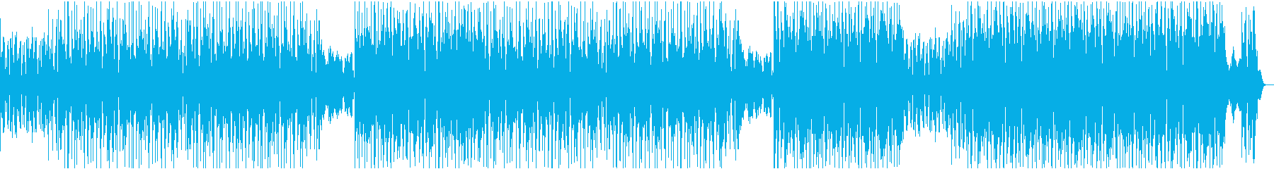 センチメンタルなヒップホップの再生済みの波形