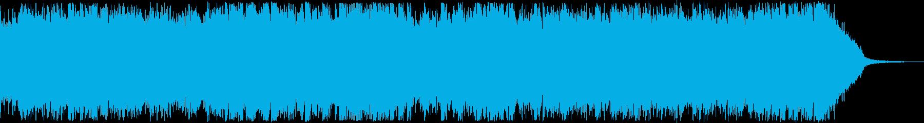 オープニング・おしゃれフューチャーベースの再生済みの波形