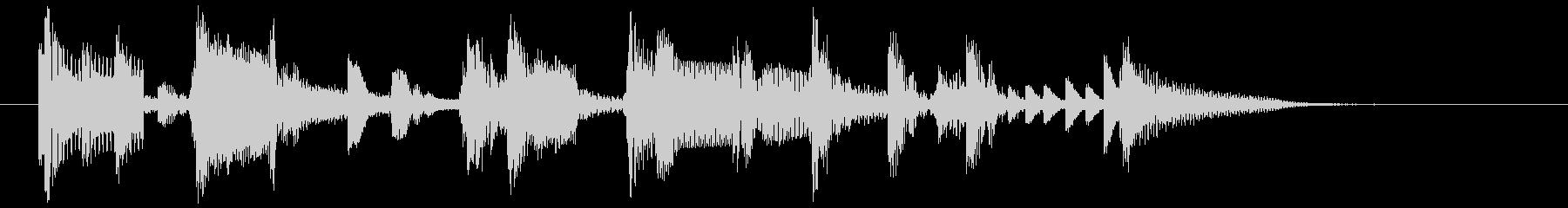 【生演奏】大人のSax効果音20の未再生の波形