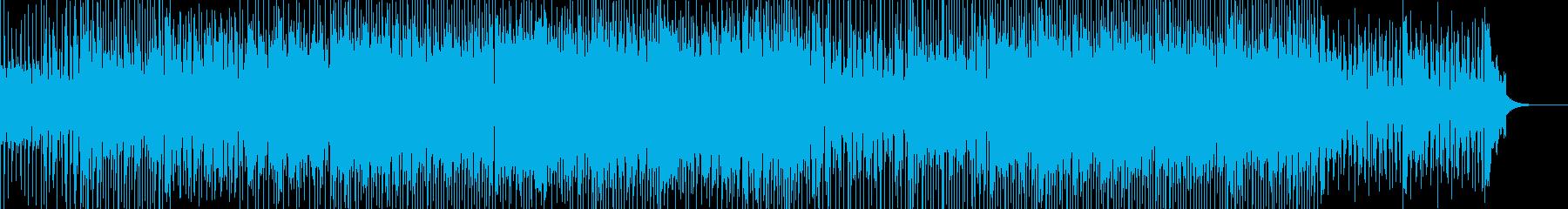 疾走感のあるカッコイイ曲の再生済みの波形