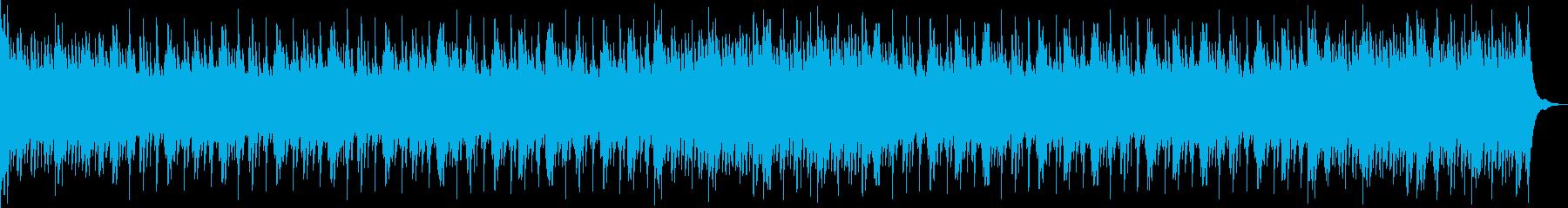 温かいエンディングローファイヒップホップの再生済みの波形