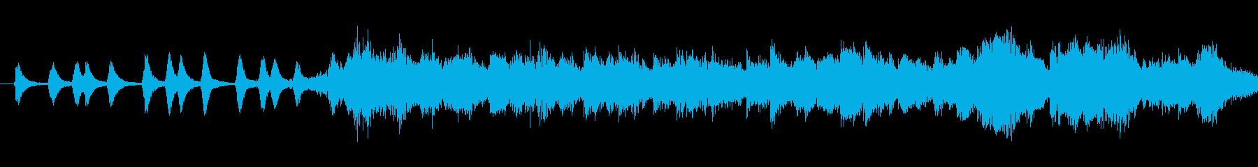 戦争時代をおもわす曲調の再生済みの波形