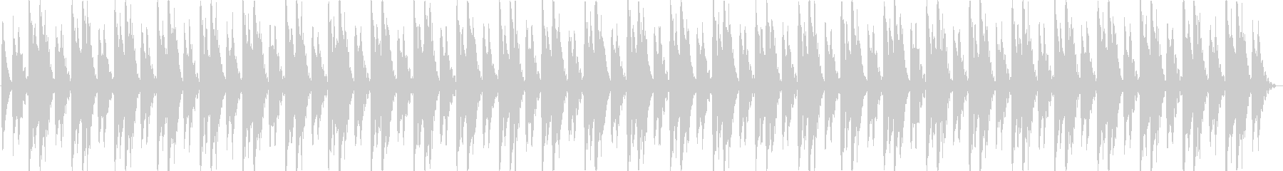 シーケンス 面白いシンセシーケンス03の未再生の波形