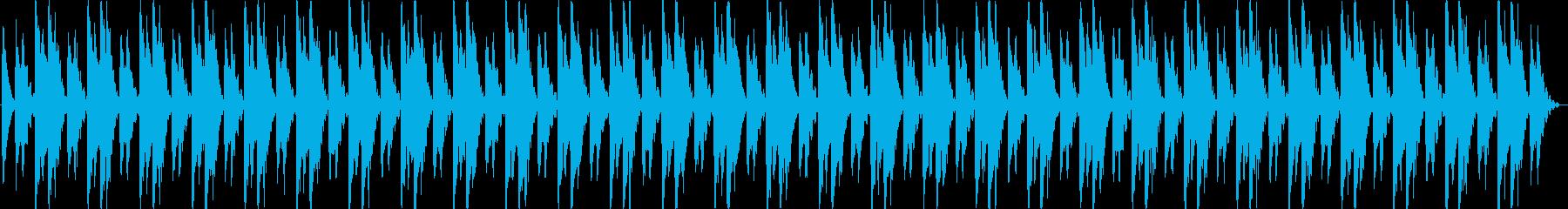 シーケンス 面白いシンセシーケンス03の再生済みの波形