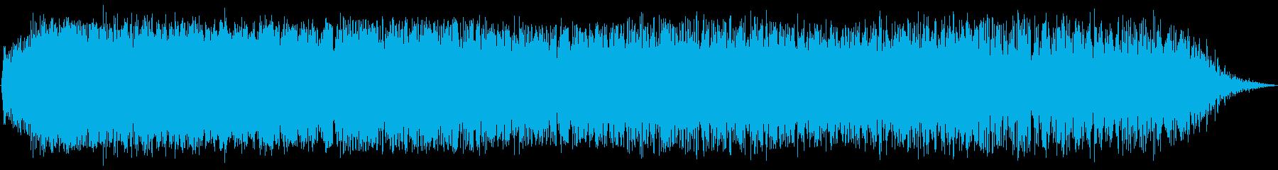 ビッグスイープの再生済みの波形