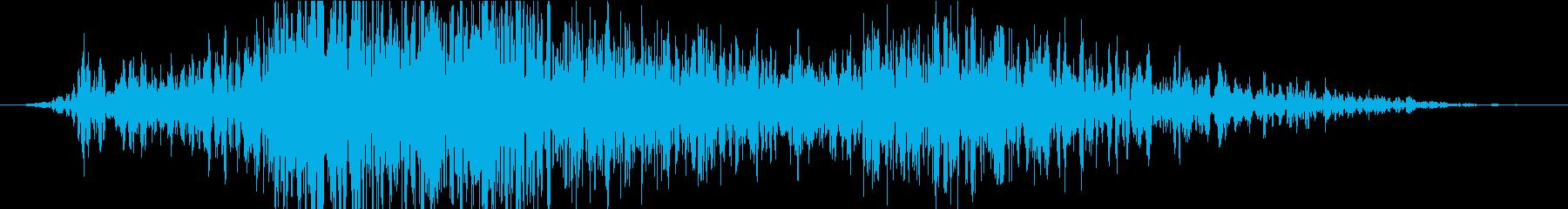 衝撃 噴火11の再生済みの波形