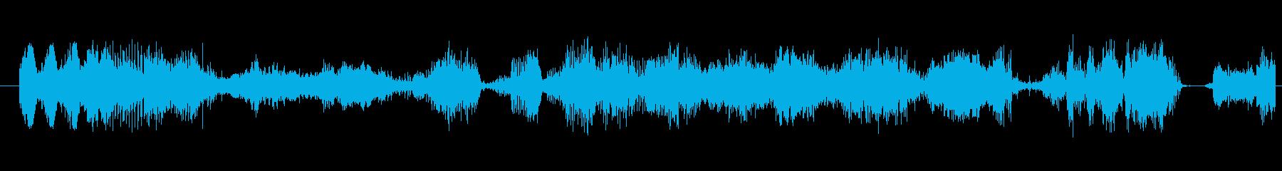イメージ ボーカルグリッチ06の再生済みの波形