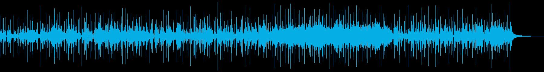 トランペットとピッコロのファンクナンバーの再生済みの波形