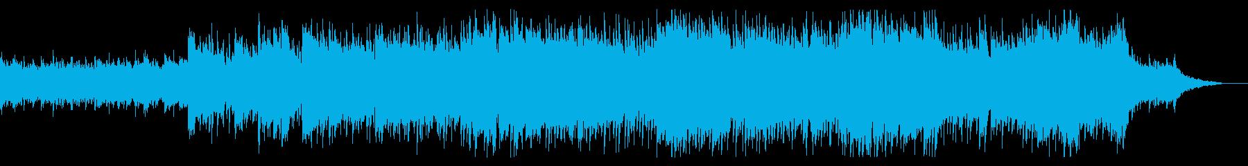 爽やかで軽快なエレクトロ・ポップの再生済みの波形