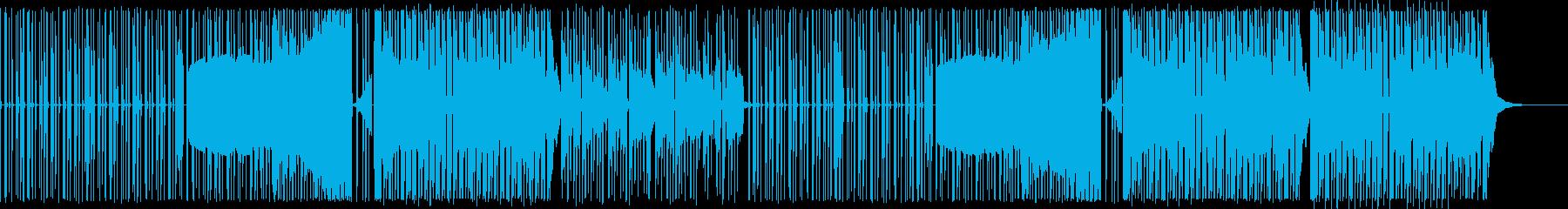 チップチューンハウス/元気一杯なゲーム風の再生済みの波形