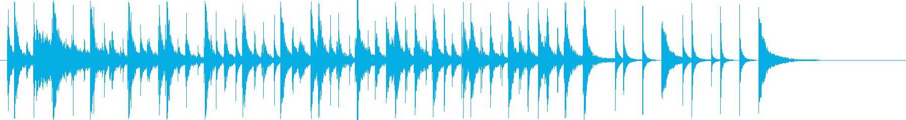 木琴メロディー:ケイジャンクッキン...の再生済みの波形