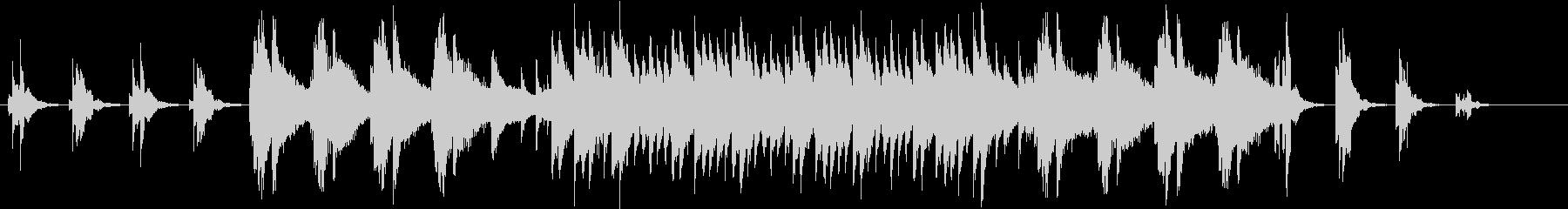 ミニマル、エレクトロニカ、チル、優しいの未再生の波形