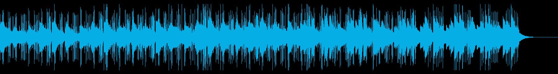 ゆっくりと始まりを感じさせるエレクトロの再生済みの波形