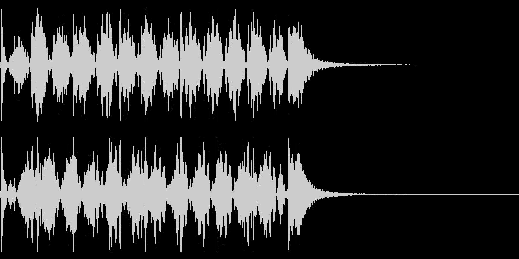 シンキングタイム用/秒針の効果音 !4の未再生の波形